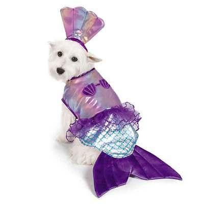 Dog Mermaid Costume (Iridescent Mermaid Dog Costume)