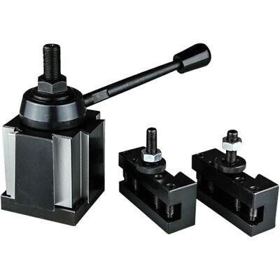 3 Pc Bxa Wedge Tool Post Intro Set Cnc Turningfacing Boring Lathe Holders
