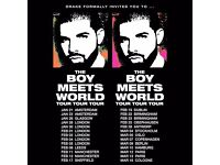 GOLD Standing Ticket / London O2 Arena / DRAKE The Boy Meets World Tour