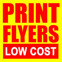 Calgary Flyer Printing | Print Flyers at the Lowest Prices!