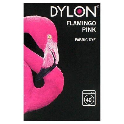 Dylon 200g Flamingo Rosa Maschine Stoff 0