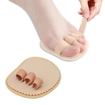 Left Right Foot Triple Toes Separators Straightener Bunion