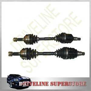 A PAIR OF NEW CV JOINT SHAFTS FOR TOYOTA COROLLA  4WD AE95 Year 1989-1994