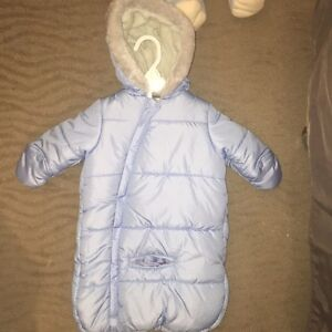 Infant winter suit 0 to 6 months
