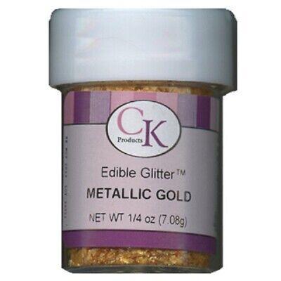 Metallic Gold Edible Glitter - 1/4 oz - 78-620G ()