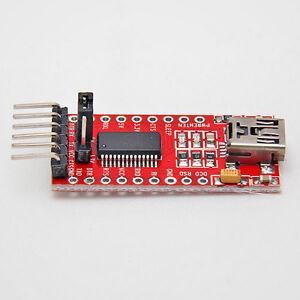 FT232RL FTDI USB zu TTL Serial Konverter Adapter Modul 5V 3.3V Für Arduino 3321
