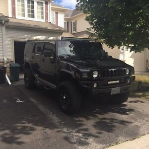 2003 Hummer H2 Fully Blacked Out