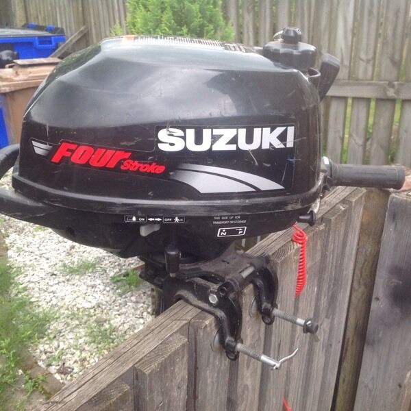 Suzuki 2 5 Hp Four Stroke Outboard In Blackburn West