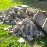 *FREE* - filler / bricks / concrete blocks