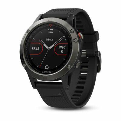 Garmin Fenix 5 Sapphire Crystal Stainless Steel Black GPS Multi Sports Watch...