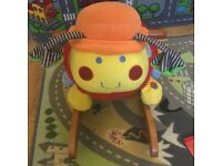 Baby toddler rocker ladybug