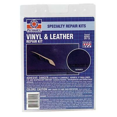 6 Pk PERMATEX Heavy-Duty High-Quality Performance Vinyl And Leather Repair Kit