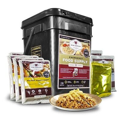 Wise Food ~ 52 Serving Prepper Pack Camping Emergency Survival