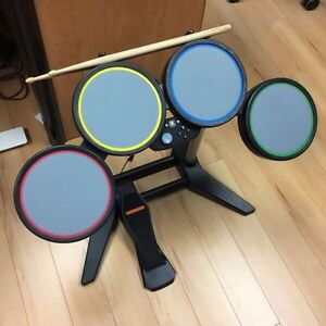 Rock Band Drum Set for Xbox 360, NEW sticks