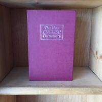 Red dictionary safe book