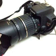 Canon EOS Rebel T5 SLR Camera + Lens + Charger Used Once Toowong Brisbane North West Preview