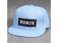 Trendy Letters Embroidery Applique Line Stripe Pattern Baseball Cap