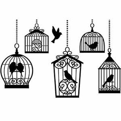 Darice - Embossing Folder - Birdcages
