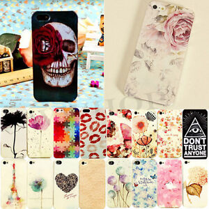 New-Phone-Painted-Various-Pattern-Hard-Skin-Case-Cover-for-Apple-IPhone4-4S-5-5S
