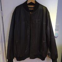 Sean John Leather Jacket (Brown)