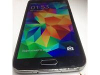 SAMSUNG S5 UNLOCKED TO ALL NETWORK