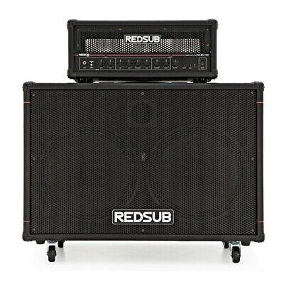 RedSub 100W Bass Amp Head + 2 x 12'' Cabinet