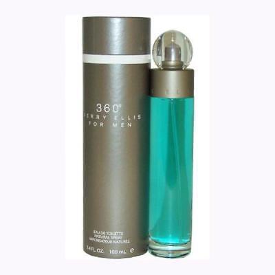 PERRY ELLIS 360 3.4 oz 3.3 oz 100 ml eau de toilette edt MEN COLOGNE PERFUME F13