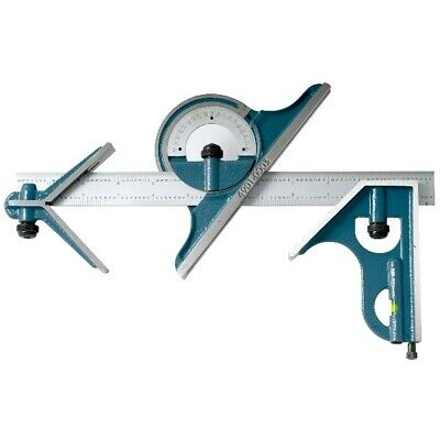 4 Piece Combination Square Set With 12 Blade