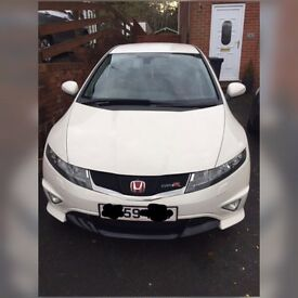 Championship White Honda Civic 2.0 type R