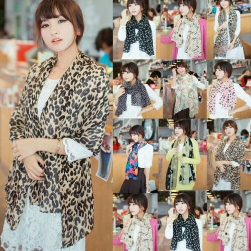 20-Styles-Women-Fashion-Dots-Leopard-Rural-Printed-Elegant-Chiffon-Scarves-Scarf