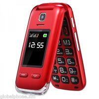 Telefono Cellulare Saiet Lumina+ Sos Foto Radio Bluetooth Amplificato Big Rosso -  - ebay.it