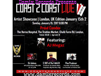 Love Songs Music Concert in Camdem with AJ Megaz Tickets