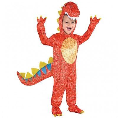 Dinosaurier Kostüm Gr. 92 /  98  (104) Dino Kinder Jungen Karneval Fasching