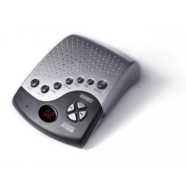 Saiet TECNO segreteria telefonica digitale CON annuncio room monitor VOX memo