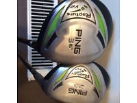 Ping rapture 3 wood and hybrid