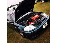 Honda Civic ek4 (vtec, modified, track, show car, turbo)