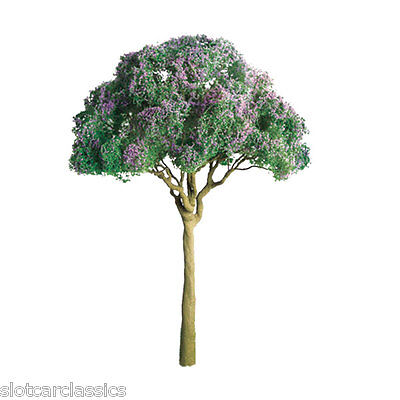 "JTT SCENERY 94278 PROFESSIONAL SERIES 1"" PURPLE JACARANDA TREE  6/PK   Z-SCALE"