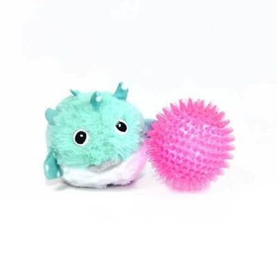 NEW! PRICKLETS PUFFER FISH PREMIUM DOG TOY INTERACTIVE REMOVABLE SPIKY BALL Puffer Ball Toy