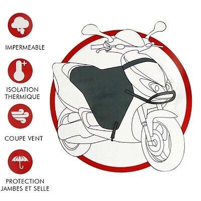Beinschutz Schwarz TNT Regenschutz Windschutz Universal für Roller Maxi Scooter