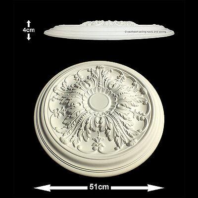 51cm Diameter, Lightweight Ceiling Rose (made of strong resin not polystyrene)