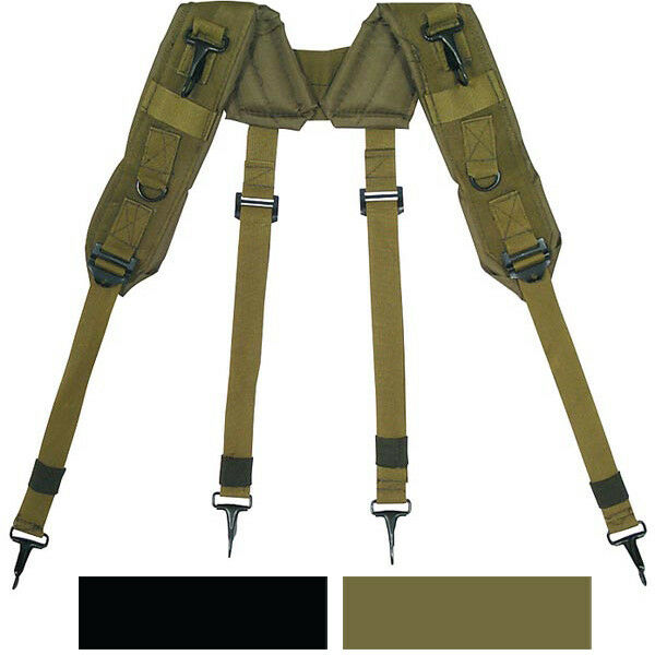 LC-1 H Style Suspenders Military Army Tactical Load Bearing Pistol Belt ALICE Clothing, Shoes & Accessories