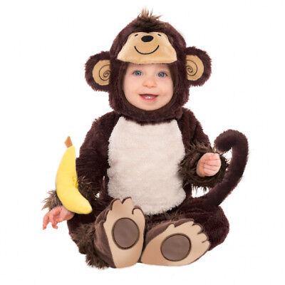 süsses Kostüm Affe Gr. 80 86  Baby Karneval Fasching Kinder kostüm Fasching neu (Kinder Affe Kostüme)
