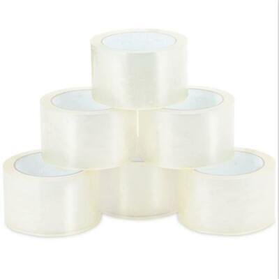 18 Rolls of 1.9-inch x 110 Yards Clear Tape - Packing Tape 2-Mil Thickness K
