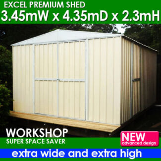 Garden Shed 3.5m x 4.35m EXTRA High! 2.3M(H) Dandenong South Greater Dandenong Preview