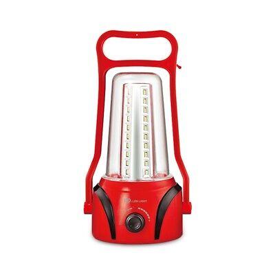 LAMPADA LED RICARICABILE DA CAMPEGGIO PORTATILE 2800 mAh CON 40 LED