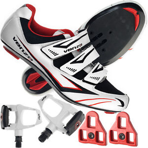 Venzo-Road-Bike-For-Shimano-SPD-SL-Look-Cycling-Bicycle-Shoes-Pedals