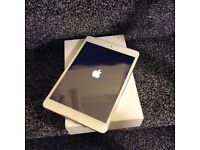 New iPad mini white with box and free case!