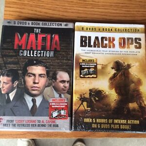 Unopened DVDs collections $20 each