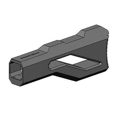 3D Printed -- Anrufbeantworter Shoulder Stock for Nerf Dart Gun Blaster