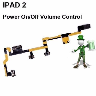 Power On Off Volume Control Flex Cable for iPad 2 - #114214 Off Volume Control